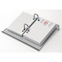 Plankje voor memoblok Design blauw transparant