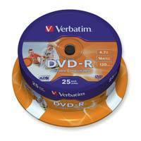 Verbatim DVD-R 4.7GB - pak van 25