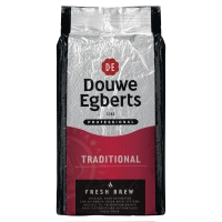 Douwe Egberts koffie Fresh Brew Traditional Rood - pak van 1000g
