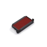 Trodat 6/4910 inktkussen 26x9mm rood voor 4910 - Pak van 2