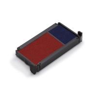 Trodat 6/4912 inktkussen blauw/rood voor 4912/2 Eco Printy Office - Pak van 2