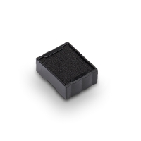 Trodat 6/4921 inktkussen 12x12mm zwart voor 4921 - Pak van 2
