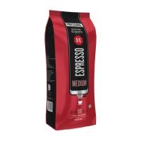 Douwe Egberts koffie Espresso Medium Roast - pak van 1000 gram