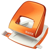 Leitz 5008 WOW 2-gaats perforator oranje 30 vel
