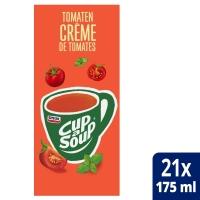 Cup-a-soup zakjes soep tomaten crème - doos van 21