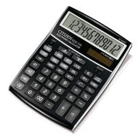 Citizen CCC112 kantoorrekenmachine kost/omzet/marge zwart - 12 cijfers