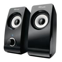 Trust Remo PC luidsprekers 2.0 zwart
