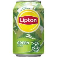 Ice Tea Green blikje 33cl - pak van 24