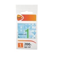 Zakenzegel 200 x 1 (t/m 20 gram) rol