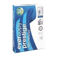 Evercopy Prestige gerecycleerd papier A4 80g - 1 doos = 5 pakken van 500 vellen
