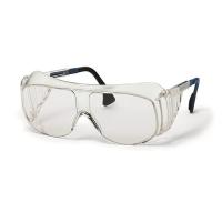 Uvex aanpasbare overzetbril - heldere lens