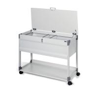 Durable hangmappentrolley voor 100 hangmappen 74 x 88,5 x 44 cm