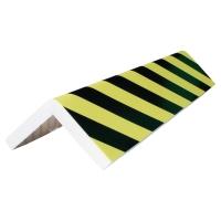 Viso hoekbescherming profiel hoogte 75 cm x breedte 30cm - zwart/geel