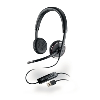 Plantronics Blackwire C520 USB PC headset
