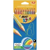 Bic Kids Tropicolors kleurpotloden assorti - doos van 12