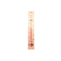 Bouhon houten klasthermometer 24 x 4 cm