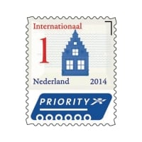 Post NL postzegels internationaal INT1 - doos van 50
