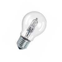 OSRAM halogeen lamp peer A55 E27 CLASSIC A ECO 20W 230V-235 lm=20W-2-pack-2000H