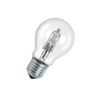 OSRAM halogeen lamp peer A55 E27 CLASSIC A ECO 77W 230V-1320lm=100W-2-pack-2000H