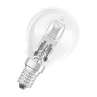 OSRAM halogeen lamp globe P45 E14 CLASSIC P ECO 30W 230V-405 lm=40W-2-pack-2000H