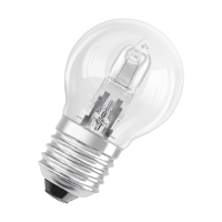 OSRAM halogeen lamp globe E27 CLASSIC P ECO 30W 230V-405 lm=40W-2-pack-2000H