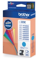 Brother LC-223C inktcartridge blauw [550 pag]