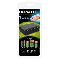 Duracell 1 uur batterijlader, 1 tel