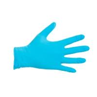 CMT 1002 wegwerphandschoenen nitril poedervrij blauw - maat S - pak van 100 st