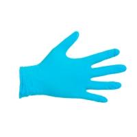 CMT 1004 wegwerphandschoenen nitril poedervrij blauw - maat L - pak van 100 st