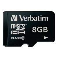 Verbatim micro SDHC kaart 8GB