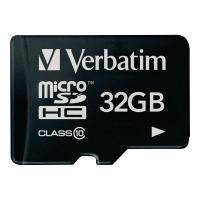 Verbatim micro SDHC kaart 32GB