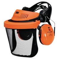 3M G500 vizierhouder oranje - Vizier 5C-1 + Peltor Optime I gehoorkap