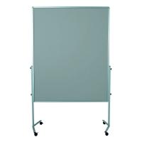 Legamaster Premium Mobile moderatiebord vilt 150x120 cm grijs