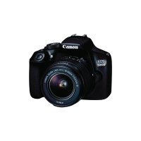 Canon EOS 1300D Reflex digitale camera zwart