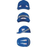 Deltaplus hoge zichtbaarheidssickers voor voor helmen - Set van 7 stuks