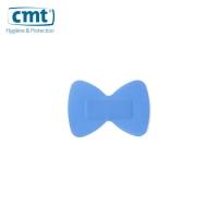 CMT hygiënische detectiepleisters vingertop blauw 45x63mm - doos van 50