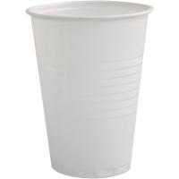 Wegwerpbekers voor warme dranken automaat 18 cl wit - pak van 3000