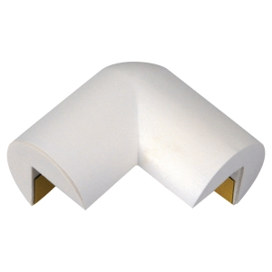 Knuffi impact corner protection profile Type A PU 2D - White