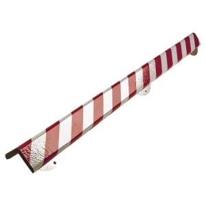 Knuffi Heavy duty profiel type H+ 1M rood/wit