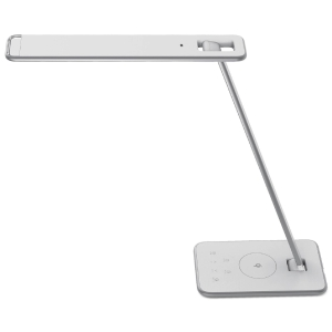 Unilux Jazz LED bureaulamp, wit/grijs
