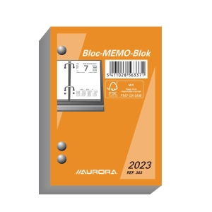 Memobloc multilingual