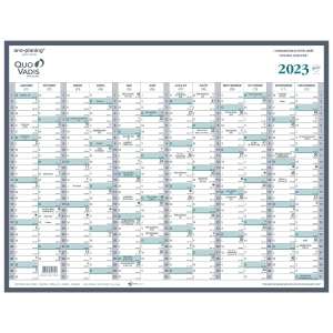 Quo Vadis Manager yearplanner 53x40cm
