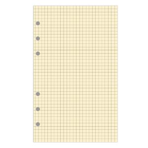 Exatime 21 vulling voor organiser geruite blok geel