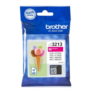 Brother LC3213M inkt cartridge, magenta