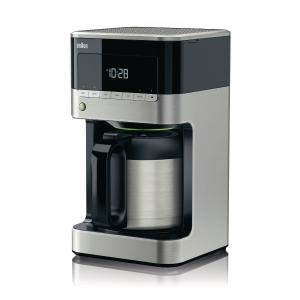 Braun PurAroma 7 koffiezetapparaat met thermos (KF7125), zwart/antraciet