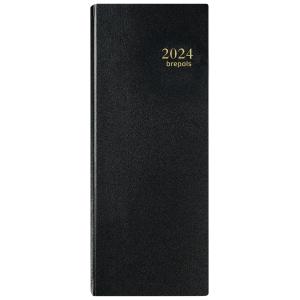 Brepols Saturnus 101 bureau-agenda met Santex omslag zwart