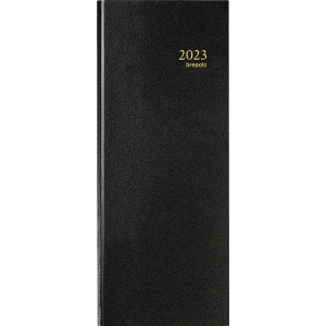 Brepols Saturnus 131 desk diary with Lima cover black