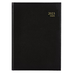 Brepols Omega 030 desk diary with Lima cover black