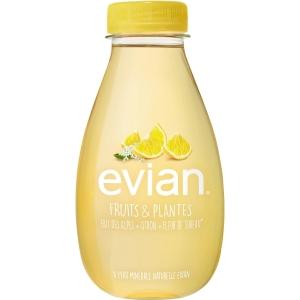 Evian citroen & vlierbloesem water 37cl - pak van 12