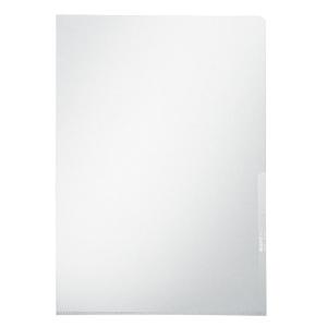 Leitz 4100 L-mappen A4 PVC 15/100e transparant - doos van 100